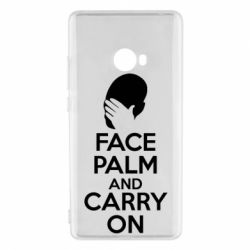 Чехол для Xiaomi Mi Note 2 Face palm and carry on - FatLine