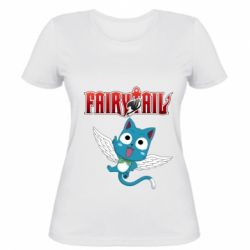 Жіноча футболка Fairy tail Happy