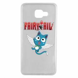 Чохол для Samsung A7 2016 Fairy tail Happy