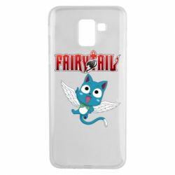 Чохол для Samsung J6 Fairy tail Happy