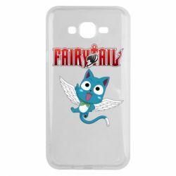 Чохол для Samsung J7 2015 Fairy tail Happy