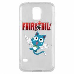 Чохол для Samsung S5 Fairy tail Happy