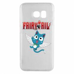 Чохол для Samsung S6 EDGE Fairy tail Happy