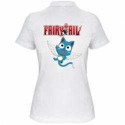 Жіноча футболка поло Fairy tail Happy