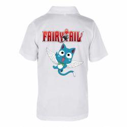 Дитяча футболка поло Fairy tail Happy