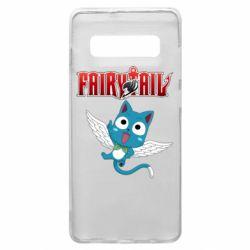 Чохол для Samsung S10+ Fairy tail Happy