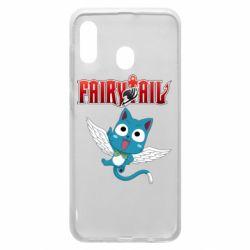 Чохол для Samsung A20 Fairy tail Happy