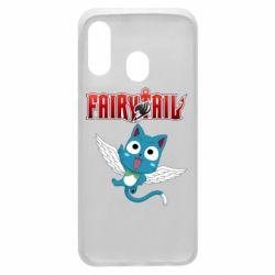 Чохол для Samsung A40 Fairy tail Happy