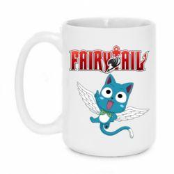 Кружка 420ml Fairy tail Happy
