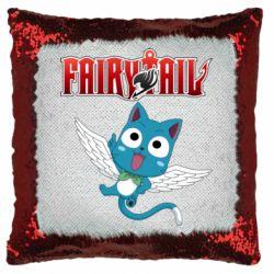 Подушка-хамелеон Fairy tail Happy