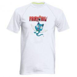 Чоловіча спортивна футболка Fairy tail Happy