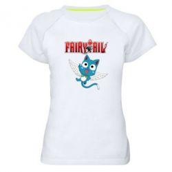 Жіноча спортивна футболка Fairy tail Happy
