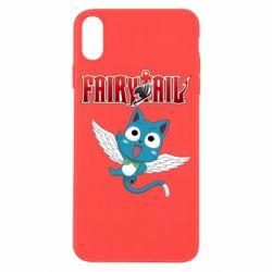 Чохол для iPhone X/Xs Fairy tail Happy