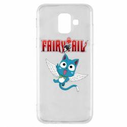 Чохол для Samsung A6 2018 Fairy tail Happy