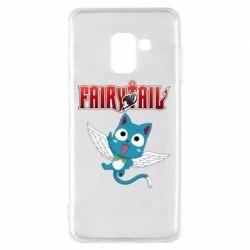 Чохол для Samsung A8 2018 Fairy tail Happy