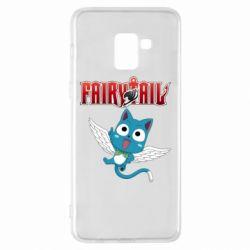 Чохол для Samsung A8+ 2018 Fairy tail Happy