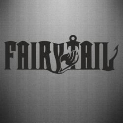 Наклейка Fairy Tail text