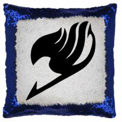 Подушка-хамелеон Fairy tail