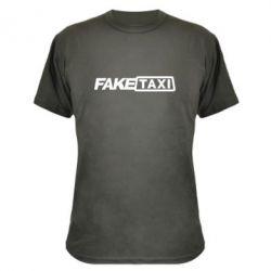 Камуфляжная футболка Fake Taxi Logo