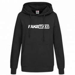 Женская толстовка Fake Taxi Logo