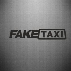 Наклейка Fake Taxi Logo