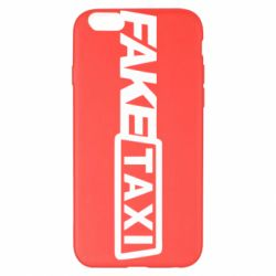 Чехол для iPhone 6 Plus/6S Plus Fake Taxi Logo