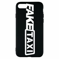 Чехол для iPhone 8 Fake Taxi Logo
