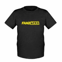 Дитяча футболка Fake Taxi Logo