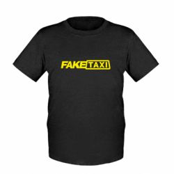 Детская футболка Fake Taxi Logo