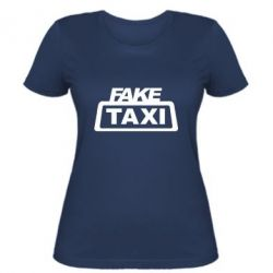 Женская футболка Fake Taxi