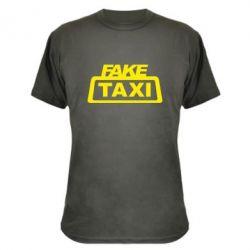 Камуфляжна футболка Fake Taxi