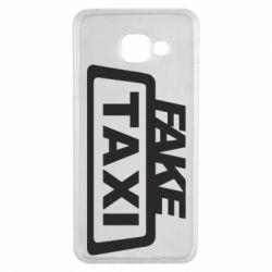 Чохол для Samsung A3 2016 Fake Taxi