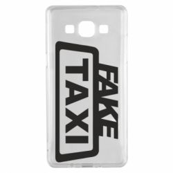 Чохол для Samsung A5 2015 Fake Taxi