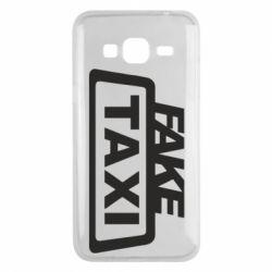 Чохол для Samsung J3 2016 Fake Taxi