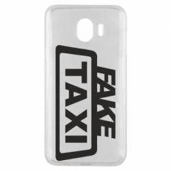 Чохол для Samsung J4 Fake Taxi