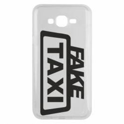 Чохол для Samsung J7 2015 Fake Taxi