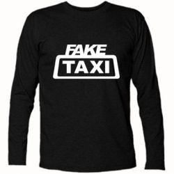 Футболка з довгим рукавом Fake Taxi
