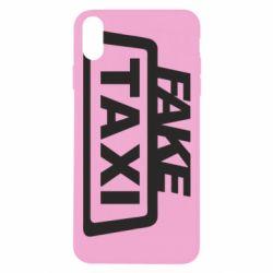 Чохол для iPhone Xs Max Fake Taxi