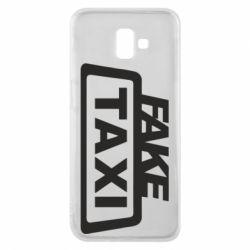 Чохол для Samsung J6 Plus 2018 Fake Taxi