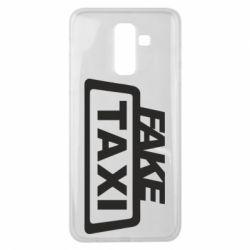 Чохол для Samsung J8 2018 Fake Taxi
