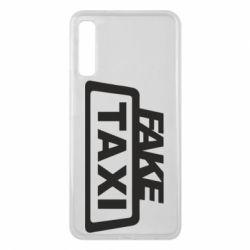 Чохол для Samsung A7 2018 Fake Taxi