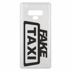 Чохол для Samsung Note 9 Fake Taxi