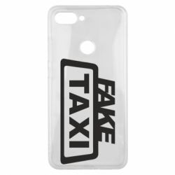 Чохол для Xiaomi Mi8 Lite Fake Taxi