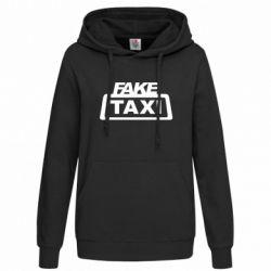 Женская толстовка Fake Taxi