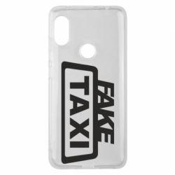 Чохол для Xiaomi Redmi Note Pro 6 Fake Taxi