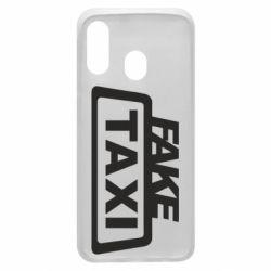 Чохол для Samsung A40 Fake Taxi