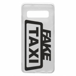 Чохол для Samsung S10 Fake Taxi