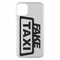 Чохол для iPhone 11 Pro Fake Taxi
