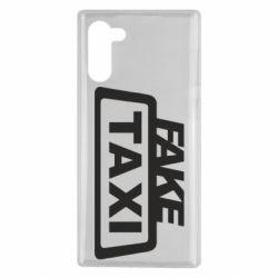 Чохол для Samsung Note 10 Fake Taxi
