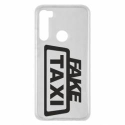 Чохол для Xiaomi Redmi Note 8 Fake Taxi